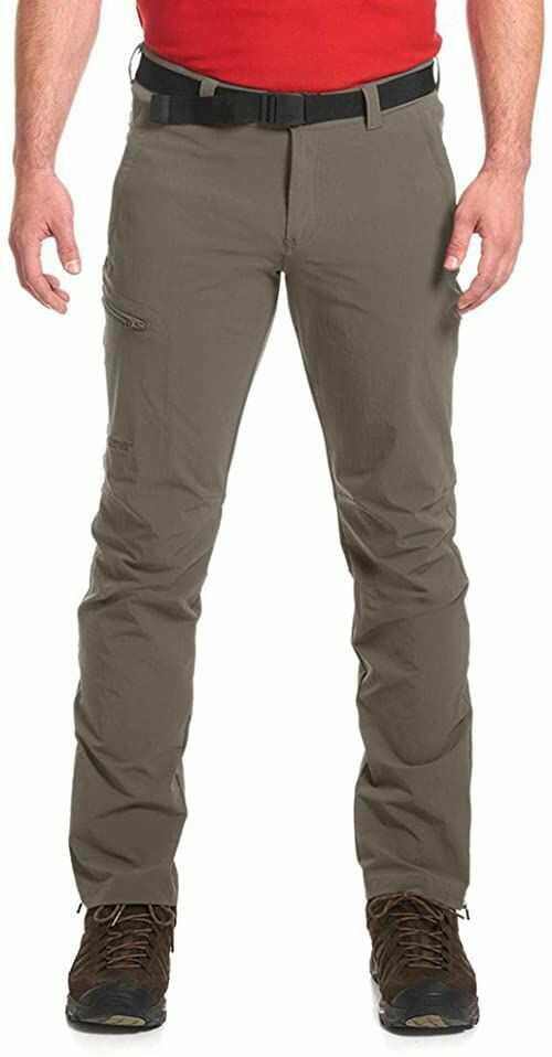 Maier Sports Torid Slim męskie spodnie trekkingowe oliwkowo-zielony Olivgrün (Teak/780) 26