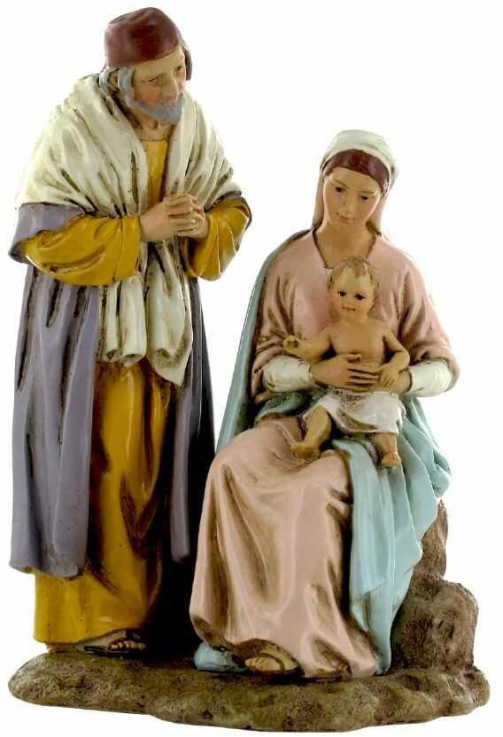 Figurka do szopki, Święta Rodzina 13 cm