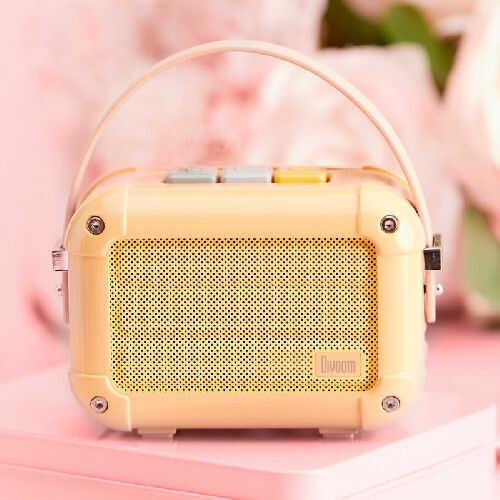 Divoom Macchiato Royal Pink Stylowy przenośny głośnik BT z radiem FM +9 sklepów - przyjdź przetestuj lub zamów online+