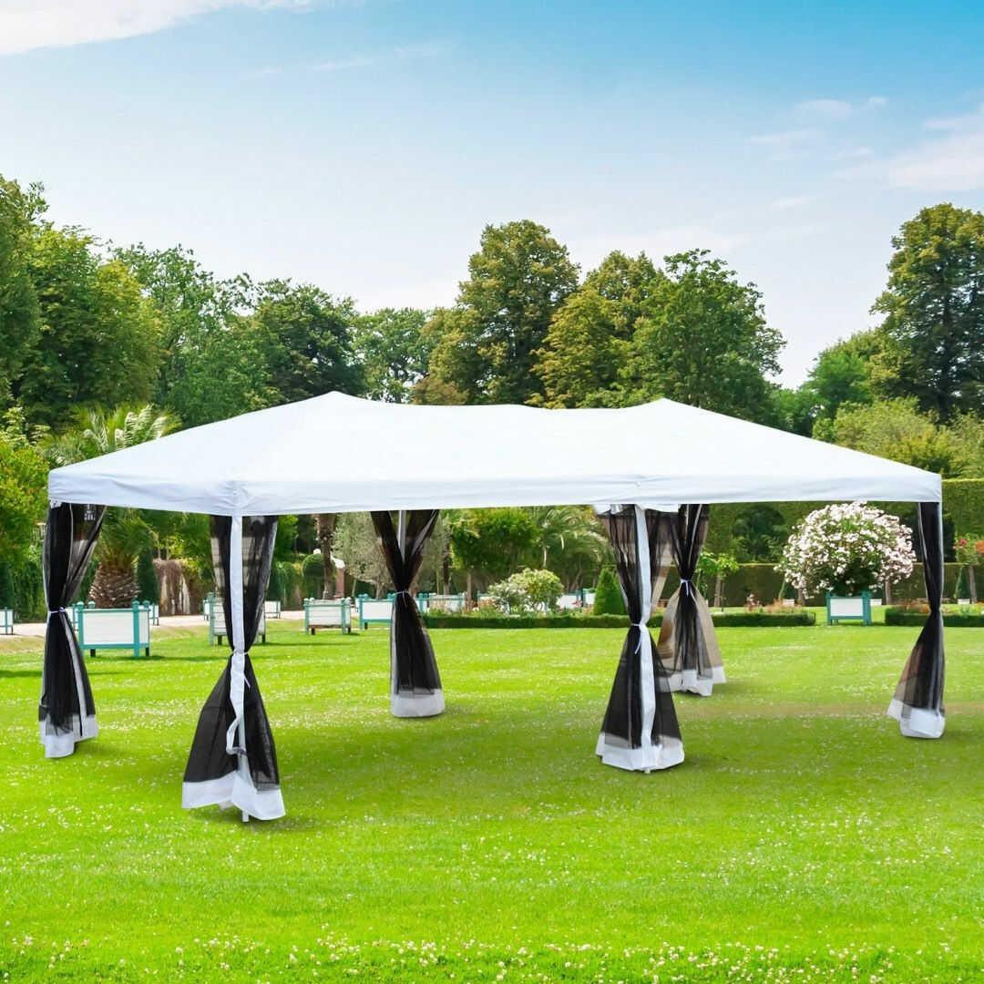 Pawilon ogrodowy 6 x 3 z moskitiera AUTOMAT TORBA