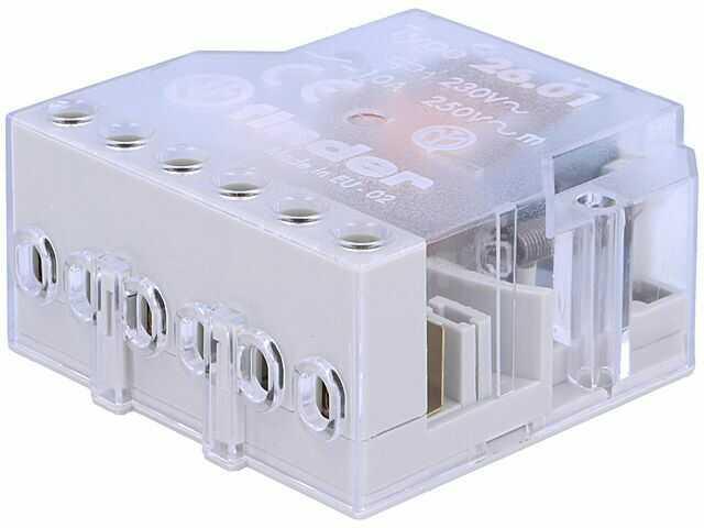 Przekaźnik instalacyjny FINDER bistabilny SPST-NO Ucewki:230VAC