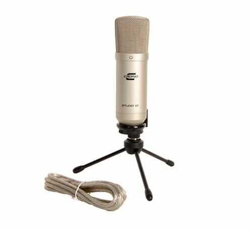 Crono Studio 101 USB SL mikrofon studyjny pojemnościowy, USB do komputera