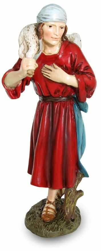 Figurka pastuszka do szopki, 14 cm