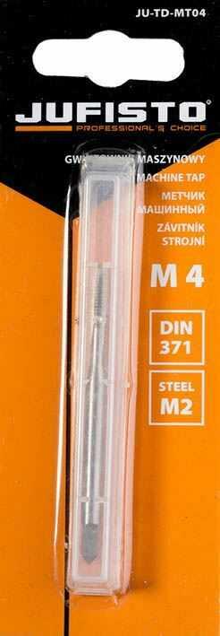 JUFISTO Gwintownik maszynowy 1xM 4