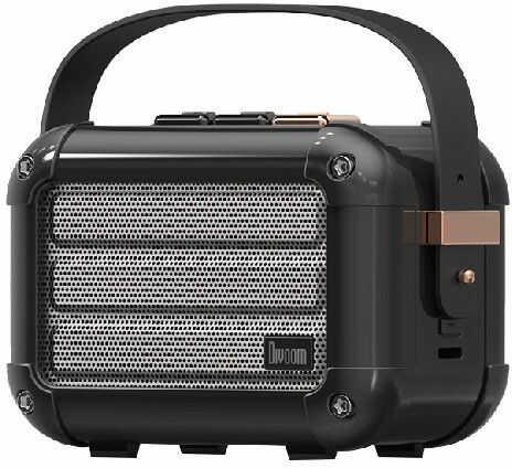 Divoom Macchiato Nocturne Black Stylowy przenośny głośnik BT z radiem FM +9 sklepów - przyjdź przetestuj lub zamów online+