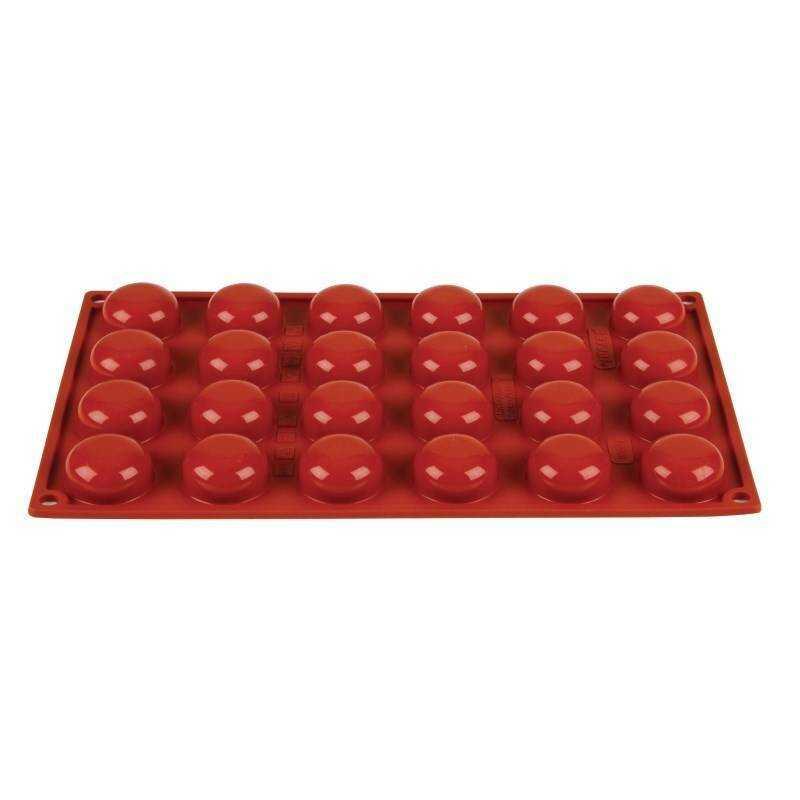 Forma do pieczenia 24 pomponette 3,4(Ø)x(H)1,6cm