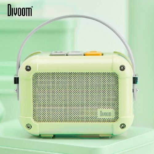 Divoom Macchiato Matcha Green Stylowy przenośny głośnik BT z radiem FM +9 sklepów - przyjdź przetestuj lub zamów online+