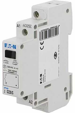 Przekaźnik instalacyjny EATON ELECTRIC bistabilny SPST-NO Ucewki:230VAC