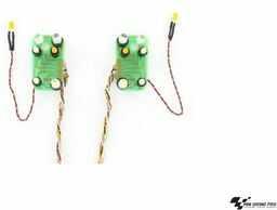 Carson 1:14 7,2 V Man płyta reflektorowa LED, RC, akcesoria do ciężarówek Tamiya, części zamienne, części tuningowe, modelarstwo, Made in Germany, 500907391