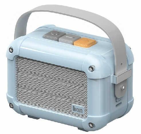 Divoom Macchiato Airy Blue Stylowy przenośny głośnik BT z radiem FM +9 sklepów - przyjdź przetestuj lub zamów online+