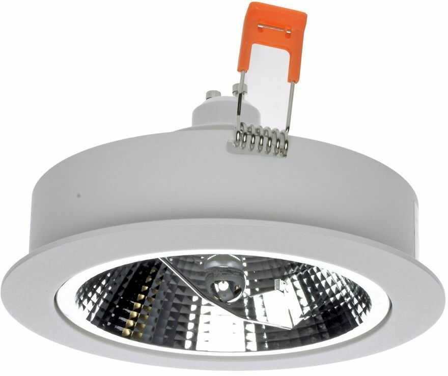 Milagro REDONDO WHITE ML5695 oprawa do wbudowania aluminium biały 1xAR111 GU10 13,5cm