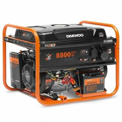 Agregat prądotwórczy DAEWOO GDA 6500E 5,5kW AVR 13KM