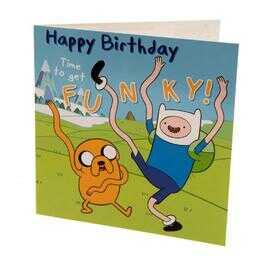Pora na przygodę - kartka urodzinowa