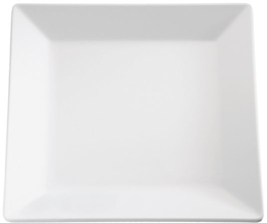 Półmisek kwadratowy z melaminy biały różne wymiary