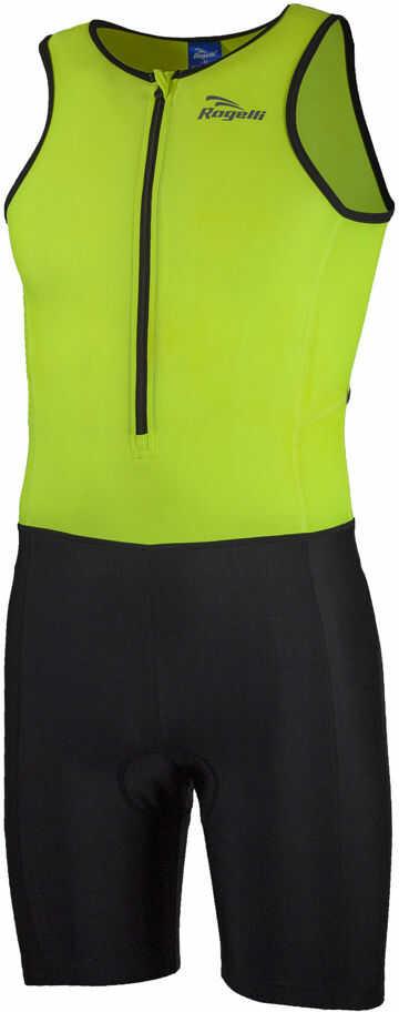 ROGELLI TRI FLORIDA 030.004 męski strój triathlonowy, fluorowo-czarny Rozmiar: 2XL,ROGELLI TRI FLORIDA 030.004-black-fluor