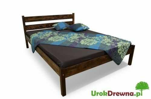 Łóżko bukowe Pablo proste 140 x 200