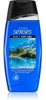 Avon Senses Wilderness żel i szampon pod prysznic 2 w 1 100 ml