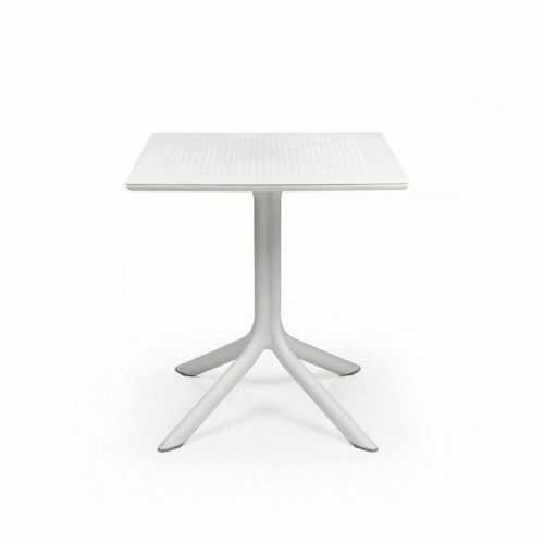 Stół Clip 70 Nardi Bianco