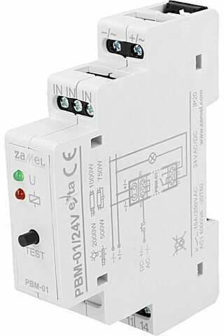 Przekaźnik instalacyjny ZAMEL bistabilny SPST-NO Ucewki:24VAC 16A