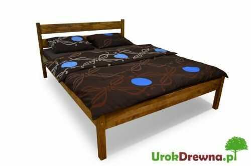Łóżko bukowe Pablo proste 160 x 200