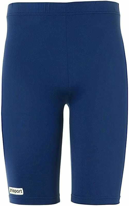 uhlsport Tight Distinction Colors męskie legginsy niebieski morski X-L