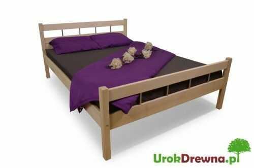 Łóżko drewniane bukowe Ritmo 140x200