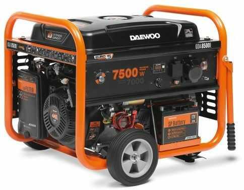 Agregat prądotwórczy DAEWOO GDA 8500E 7,5kW AVR 18KM