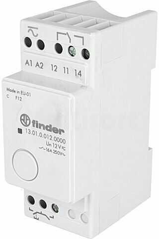 Przekaźnik instalacyjny FINDER bistabilny, monostabilny SPDT 12VAC