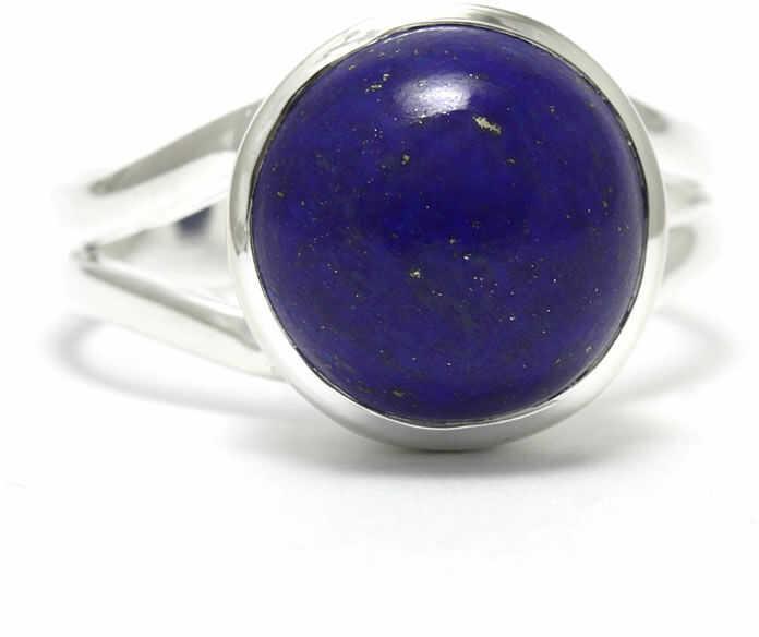 Kuźnia Srebra - Pierścionek srebrny, rozm. 20, Lapis Lazuli, 5g, model