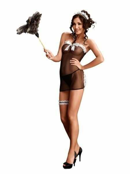 Me seduce flavia kostium pokojówki