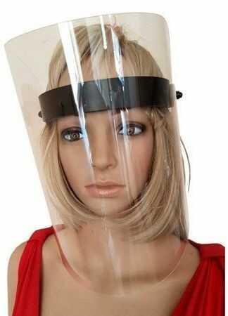 50xPrzyłbica ochronna na twarz, ochraniacz maska
