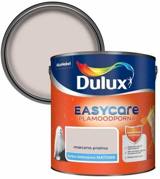 Farba Dulux EasyCare mleczna pralina 2,5 l