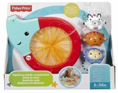 Fisher Price - Kąpielowy słonik z przyjaciółmi CMY23
