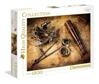 Puzzle Clementoni 1500 - Kurs do skarbu, Course to the treasure