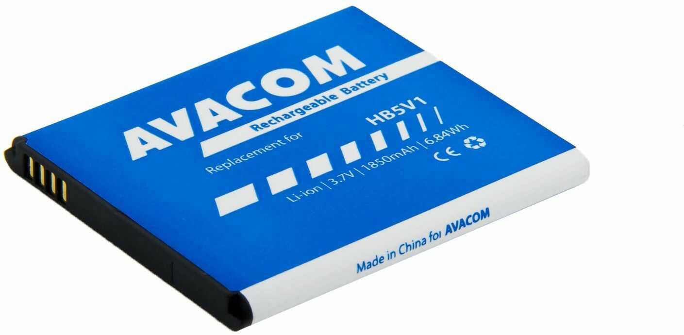 Akumulator do telefonu Huawei Ascend Y300 Li-Ion 3, 7 V 1850 mAh, (zamiennik HB5V1)