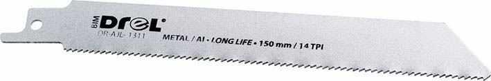 Brzeszczot do piły szablastej o wymiarach 150x19x0.9mm; metal; 1szt