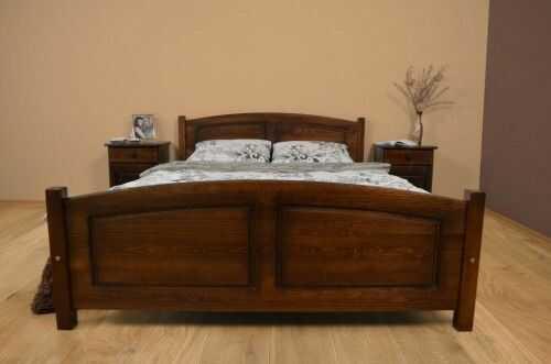 Łóżko drewniane sosnowe Mario 180x200