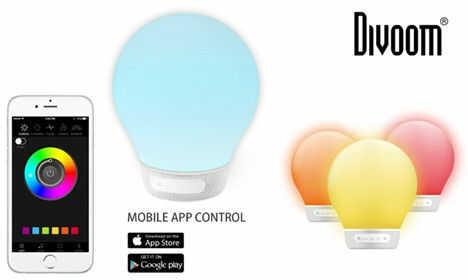 Divoom Aurabulb - white -Głośnik Bluetooth +9 sklepów - przyjdź przetestuj lub zamów online+