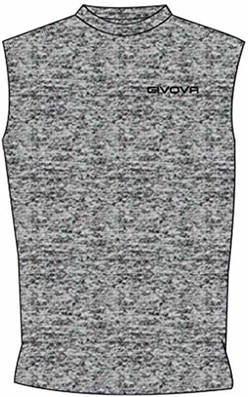 Givova, Corpus 1 elastyczny podkoszulek, szary przezroczysty, 2XL