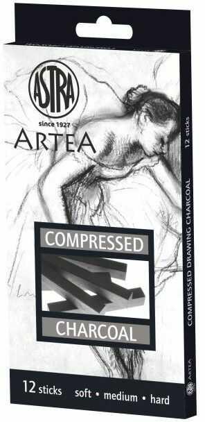 Zestaw węgli prasowanych Astra 12 szt 79066