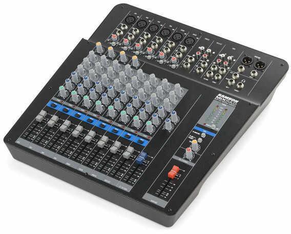 Samson MixPad MXP144 - mikser audio 6 x MIC/Line ( XLR/ Jack 1/4)- 4 x stero (Jack 1/4 - RCA)- 1 x AUX, 4 x kompresor