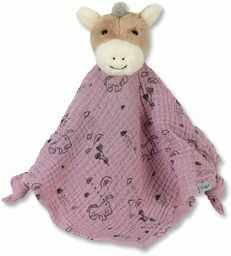 Sterntaler Ręcznik do przytulania Pony Pauline, dla dzieci od 1. miesiąca życia, rozmiar M, 33 x 45 cm