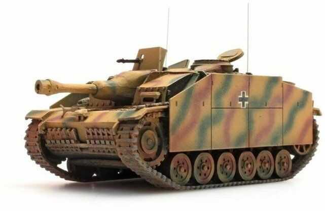 StuG III malowanie maskujące Gotowy Model H0 1:87 Artitec