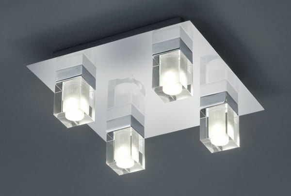 Trio CUBO 681910406 plafon lampa sufitowa