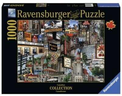 Puzzle Ravensburger 1000 - Toronto, Kanada, Canadian