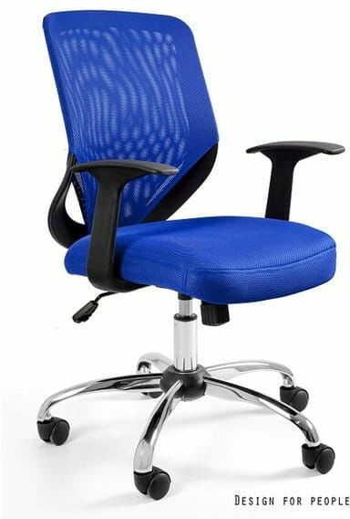 Fotel Biurowy Unique MOBI niebieski