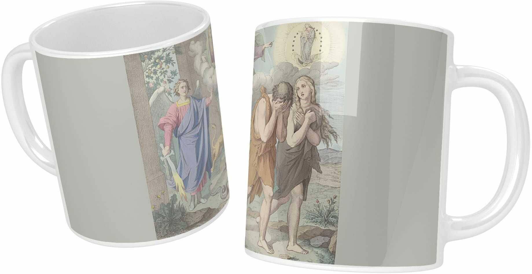 Kubek ceramiczny, Wygnanie z Raju