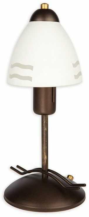 Solo lampka stołowa 1 pł. / rdza wenge
