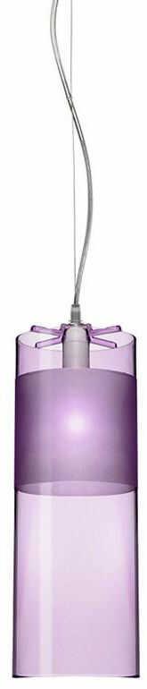 Easy różowy - Kartell - lampa wisząca