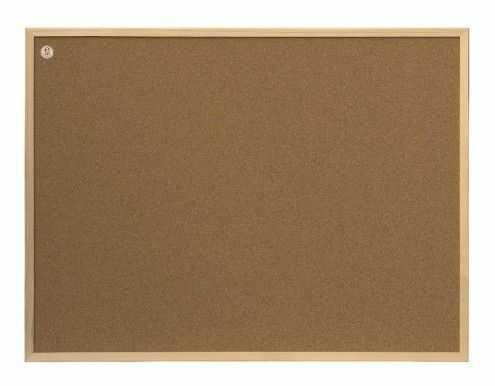 Tablica korkowa ecoBoards w ramie drewnianej 80 x 60 cm